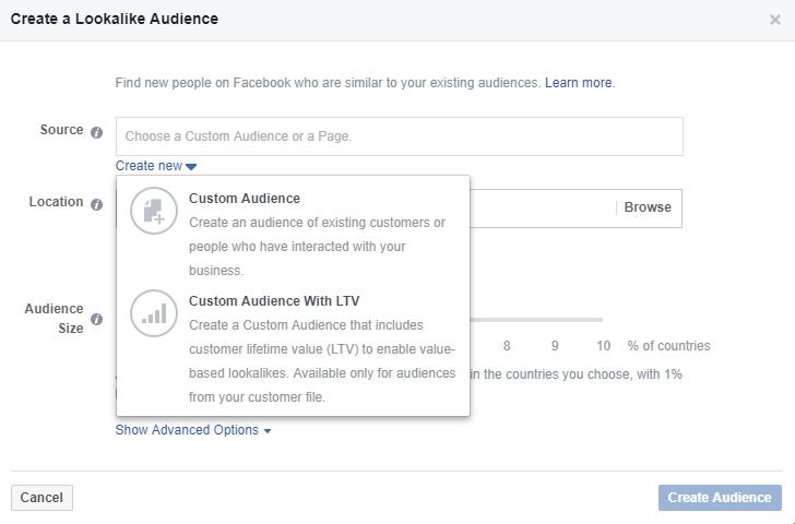 influencer marketing facebook benzer hedef kitle