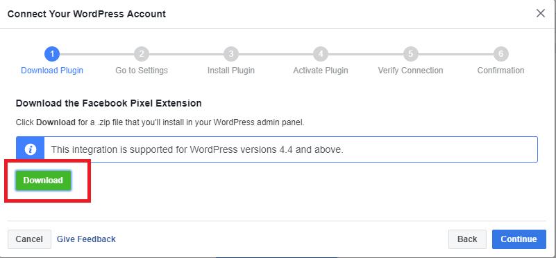 facebook piksel wordpress