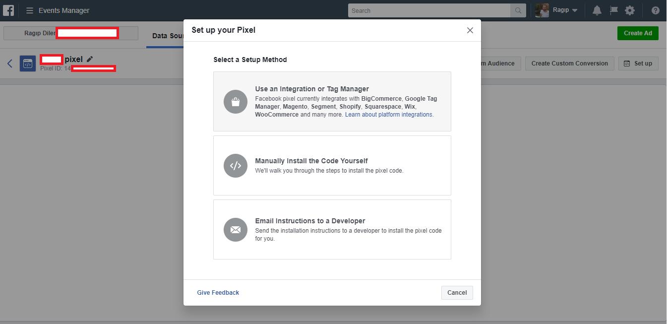 facebook piksel kolay kurulum