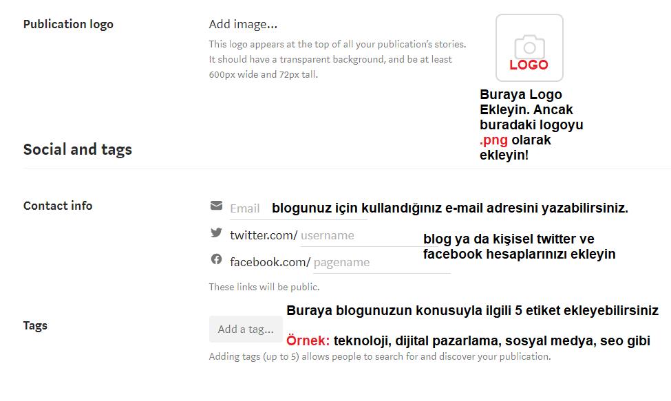 medium blog açma