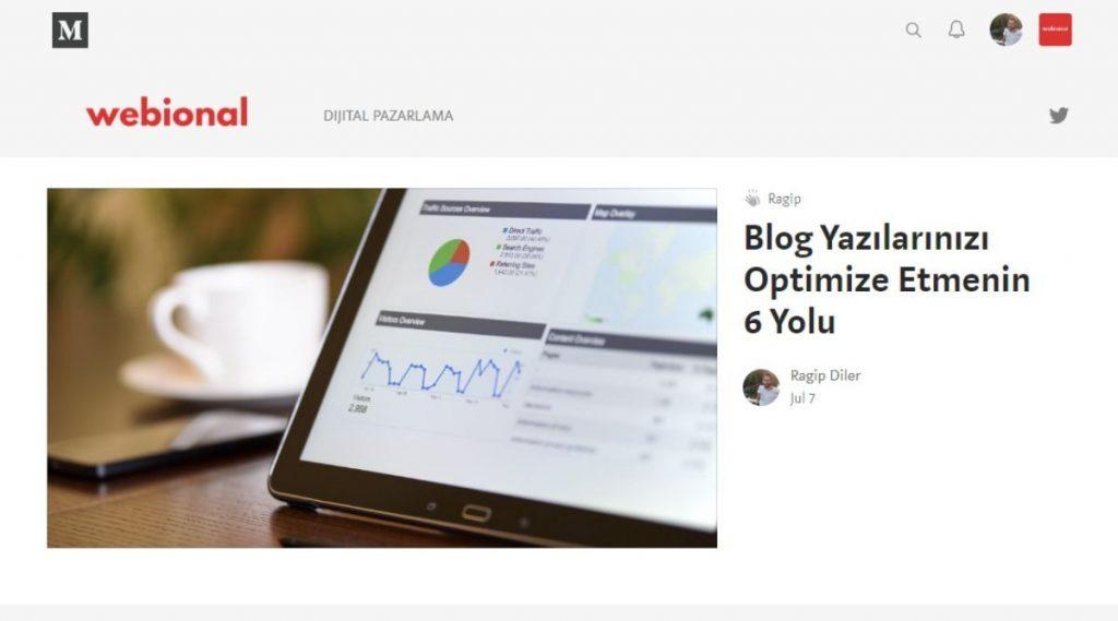 medium ile blog sitesi açma nasıl yapılır
