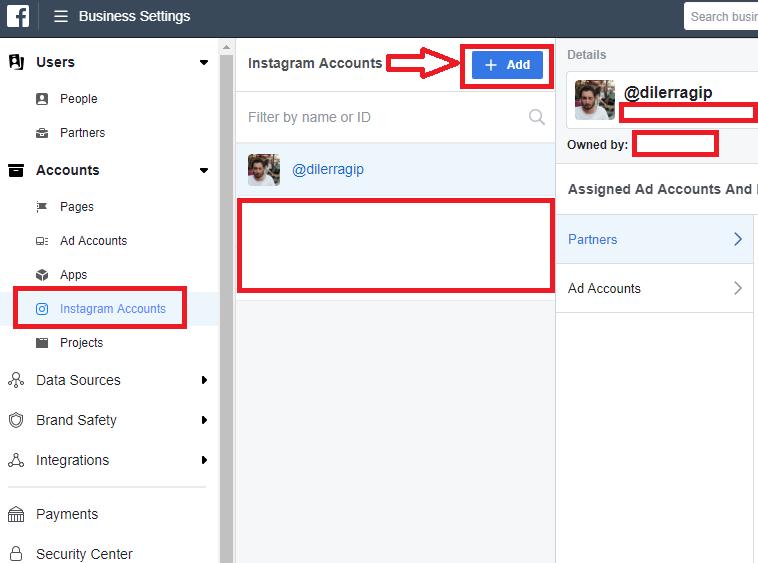 instagram facebook bağlantısı kurma