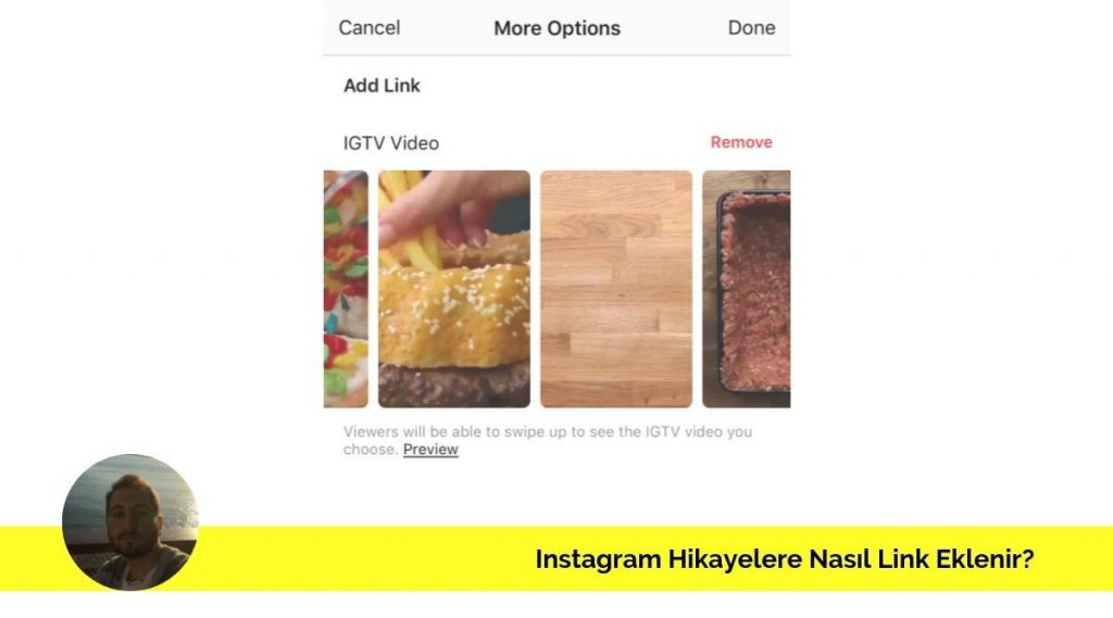 instagram hikayelere link ekleme nasıl yapılır