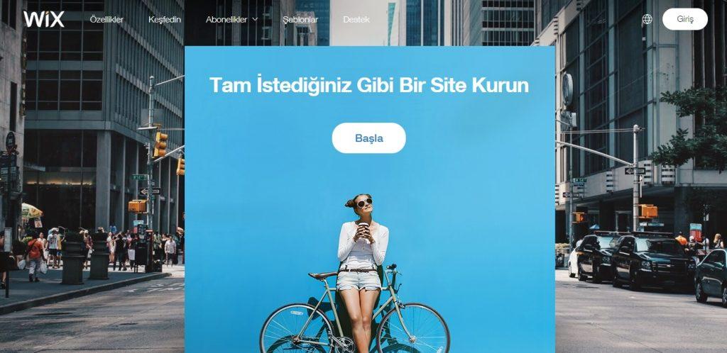 wix ile website kurmak