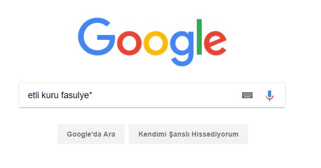 google da nasıl arama yapılır