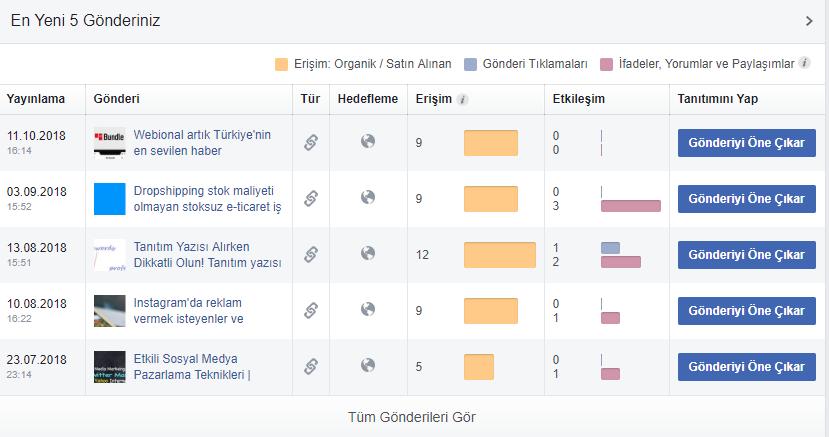 facebook insights nedir