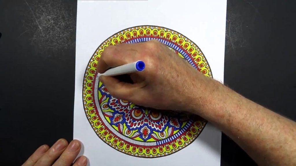 taş boyama sanatı mandala nasıl yapılır