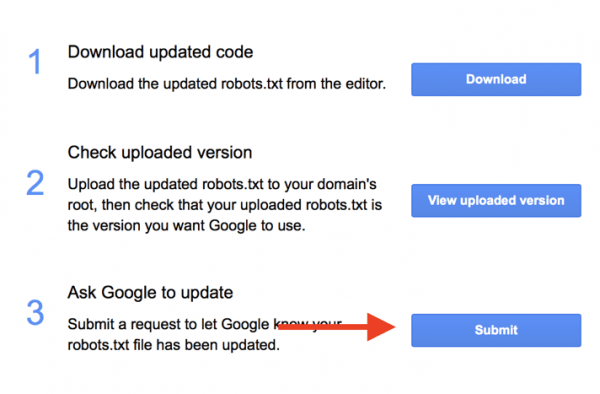 robots.txt dosyası nasıl güncellenir