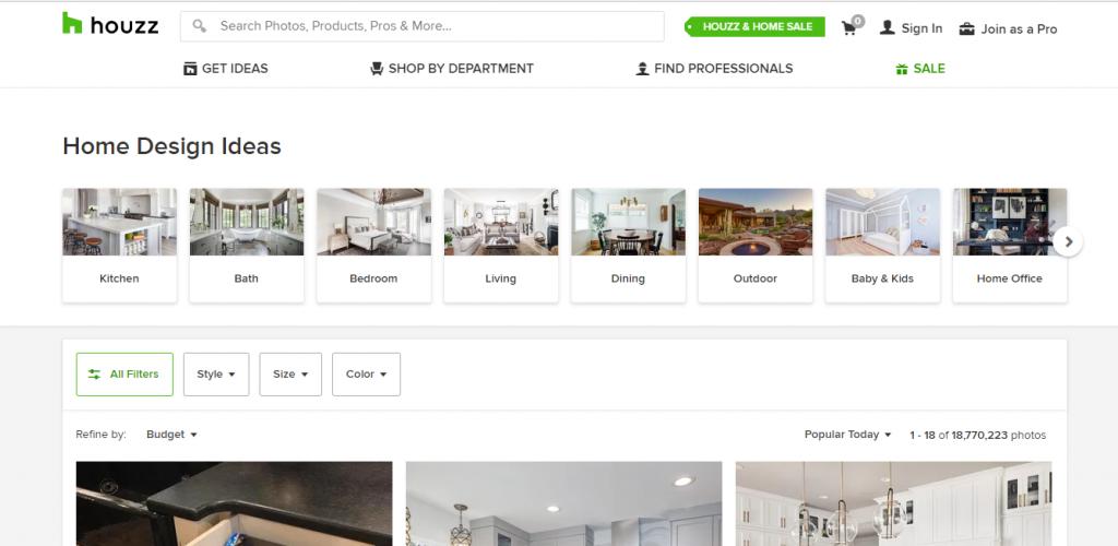 ev dekorasyon fikirleri için siteler