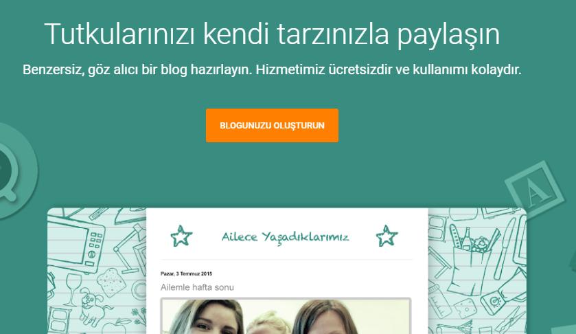 blog açmak için en iyi ücretsiz siteler