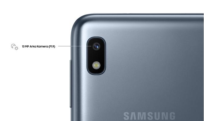 samsung a10 kamera özellikleri