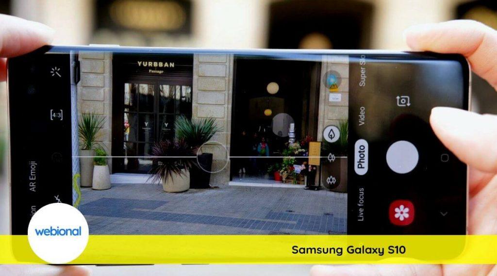 samsung s10 kamera özellikleri nasıl