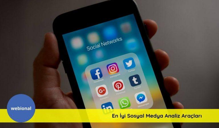En İyi 3 Sosyal Medya Analiz ve Raporlama Aracı Nedir?