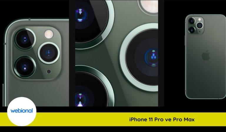 Apple iPhone 11 Pro ve iPhone 11 Pro Max Farkları, Fiyatı ve Özellikleri Nasıl?